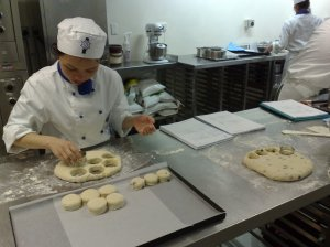 Hsiu Yen and scones