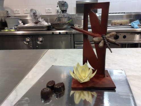 Another chocolate centerpiece