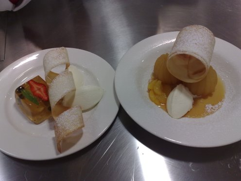 Jelly and Poached Apple